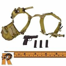 Universal Soldier Andrew - Beretta Pistol & Harness #1 - 1/6 Scale Damtoys