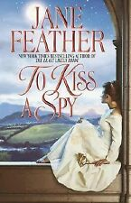 To Kiss a Spy by Jane Feather (2002, Hardcover) PB