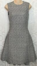 Christian Dior Dress Black And White Speckled Size 4 Altered To Size 2