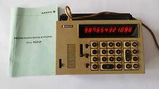 Elektronischer Taschenrechner  Sanyo ICC-1122 Taschenrechner RAR alt old