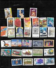 AUSTRALIA COMMEMORATIVES 30 DIFF POSTALLY USED STAMP COLLECTION LOT SET PACKET