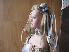 paradise galleries doll Tom Francirek Day Dream fairy wings blue dress figure