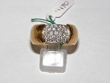 ANELLO VENDORAFA ORO 18kt DIAMANTI CT 1 ring gold daimond Anneau D'OR DIAMANT