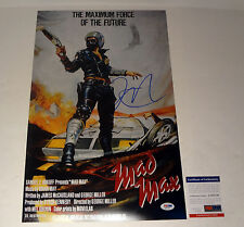 GEORGE MILLER DIRECTOR MAD MAX SIGNED AUTOGRAPH MOVIE POSTER PSA/DNA COA #4
