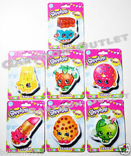 1 PC SHOPKINS ERASER AT RANDOM  CHEEKY CHOCOLATE KOOKY COOKIE LIPPY LIPS APPLE