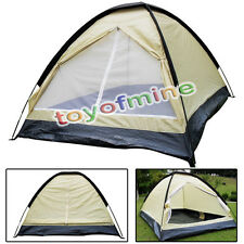 Latest 2 Person Windproof Waterproof Double Layer Tent Outdoor Camping Hiking