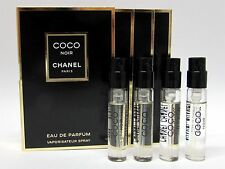 Chanel Coco Noir Eau de Parfum EDP for Women .06 oz 2 ml Spray Vials x 4 PCS