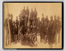 METAL MAGNET African American Buffalo Soldiers Military 1890 MAGNET X