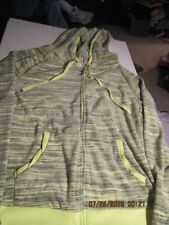 Womens Juicy Couture Velour jacket Lime Size Medium new w/tags