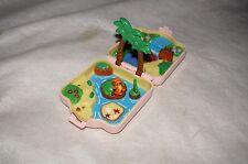 1997 NINTENDO POKEMON COMPACT PARK POLLY POCKET TYPE TOMY MADE Pink Color