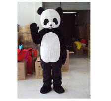 2016 HOT New Professional Panda Bear Mascot Costume Fancy Dress Adult Size