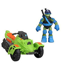 "Teenage Mutant Ninja Turtles Vehicle Boxed set with LEONARDO 5"" toy figure"