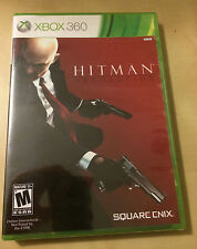 Hitman Absolution Xbox 360 game BRAND NEW FACTORY SEALED! Square Enix