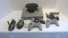 Sony Playstation Console Model SCPH-1001 with 2 Controllers, memory card , Cords