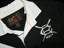 MENS SZ S RALPH LAUREN RUGBY CLASSIC FIT POLO #5 BIG PATCH RUGBY SHIRT SZ S