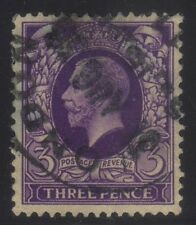 [JSC]1934 Portrait Of King George V English Three Pence Purple Postage Stamp