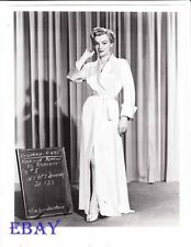 Marilyn Monroe costume test RARE Photo Love Nest