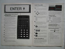 5/1974 PUB HP HEWLETT PACKARD HP-45 HP-35 SCIENTIFIC CALCULATOR CALCULATRICE AD