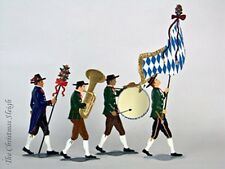 Artist Wilhelm Schweizer German Standing Pewter Zinn - Bayrischer Hochzeitszug