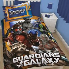 Marvel Guardians of the Galaxy Misfits Single Panel Duvet Cover Bed Set Avengers