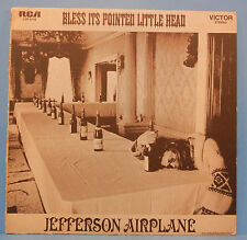 JEFFERSON AIRPLANE BLESS IT'S POINTED LITTLE HEAD LP 1969 GREAT COND! VG+/VG!!A