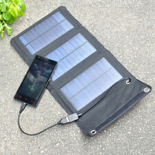 5W Foldable Solar Panel Battery Charger USB Power for Cellphone Portable
