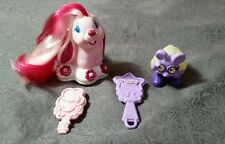 Vintage Lot of KEYPERS: Finder, 2 brushes, Baby Blossom Bunny Rabbit Tonka cute