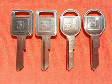 4 CHEVY BUICK PONTIAC OLDS  OEM KEY BLANKS 67 71 75 79 83 84 85 86