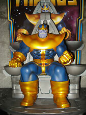 Bowen Designs Thanos on throne full size statue Avengers Marvel Comics Rare