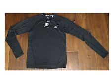 Adidas TS ½-zip Cocona L/S Shirt Herren Funktionsshirt Laufshirt Gr.50 / M * NEU