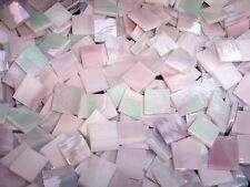 """100 1/2"""" Iridescent Rose Stained Glass Mosaic Tiles"""