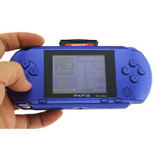 PXP 3 Game Console Handheld Portable 16 Bit Retro Game For Kids Children Blue