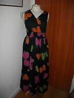 BNWT Beautiful Ladies KUSHI Butterfly Maxi Dress Size 8