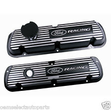 NEW OEM Ford Racing Black Satin Truck Valve Covers M6582A351R