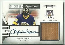 Rogie Vachon 10/11 Panini Dominion Stickside Signatures /50