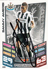 Newcastle United F.C Sammy Ameobi Hand Signed 12/13 Premier League Match Attax.