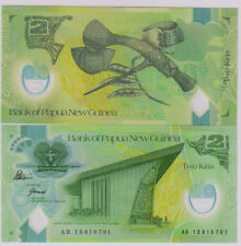Papua New Guinea 2 Kina polymer  Unc currency