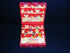Walt Disney 2005 HK Disneyland Grand Opening Pins Box Guest only Disneyland HKDL