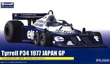 Fujimi GP-17 1/20 Scale Formula 1 Model Kit Tyrrell P34 Long Wheel Japan GP 1977