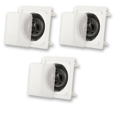 "Acoustic Audio CS-I63S In Wall / Ceiling 6.5"" 3 Speaker Set 3Way 900W CS-I63S-3S"