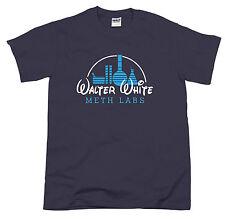 Heisenberg Blue Crystal Meth Lab Walter Inspired Breaking Bad TV Series Tshirt