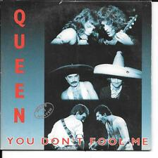 CD SINGLE 2 TITRES--QUEEN--YOU DON'T FOOL ME--1996