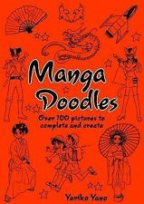 Manga Doodles by Yuriko Yano Packed With Pictures To Complete And Create
