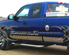"1999-2006 Chevy Silverado 4Dr Extended Cab Short Bed Rocker Panel-12p 6"" w/Flare"