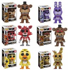 Funko Pop! Five Nights at Freddy's Fnaf Complete Set Of 6 Springtrap Foxy Bonnie