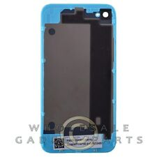 Door with Frame for Apple iPhone 4 GSM Light Blue Panel Housing Battery Cover