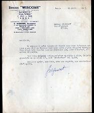 """PARIS (III°) STYLO Welcome Sandefo Multipen """"Ets ROBERT / G. MIGNEROT Succ"""" 1947"""