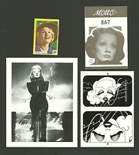 Marlene Dietrich Movie Actress Fab Card Collection B