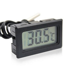 Mini Digital LCD Display Indoor Temperature Meter Thermometer Temp Sensor Probe