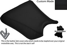 BLACK STITCH CUSTOM FITS KAWASAKI ZXR 250 88-91 FRONT RIDER LEATHER SEAT COVER
